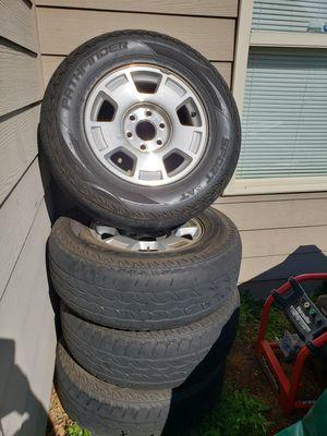 "Set of 17"" tires 6 Lug for Sale in Fairburn, GA"