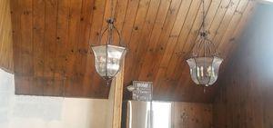 Beautiful Chandelier Hanging Lamps Lights $25/ea for Sale in Pasadena, CA
