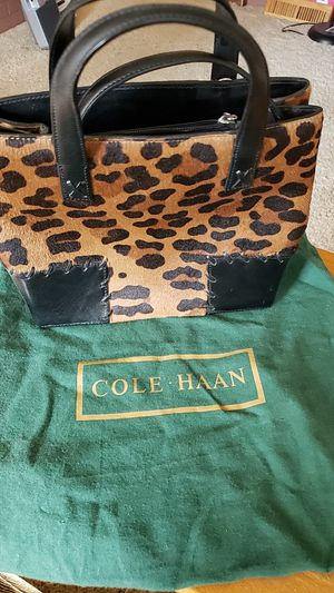 Brand new Cole Haan leopard bag for Sale in Brentwood, PA