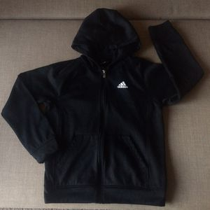 Adidas Hoodie zippered jacket. Large(14/16) for Sale in Glenshaw, PA