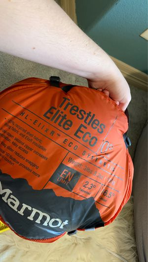 Marmot Trestles Elite Eco 0 degree sleeping bag for Sale in Colorado Springs, CO