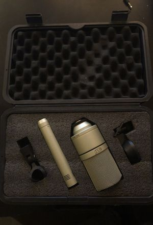 MXL 2 Mic Recording Pack W Hard Case for Sale in Tempe, AZ