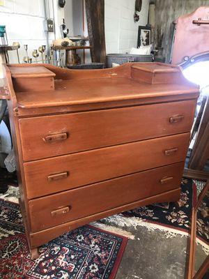 Antique dresser solid wood for Sale in Spartanburg, SC