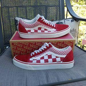 Red Vans sz 10.5 for Sale in Dunwoody, GA