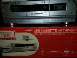 Tape 2 PC Converter W/50 Cassette tapes for Sale in Gulfport, FL