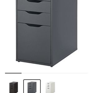 New Ikea Alex Drawers With File Storage - Gray Color for Sale in Vienna, VA