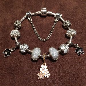 Brand new fantastic charm bracelet with velvet gift bag for Sale in Alexandria, VA