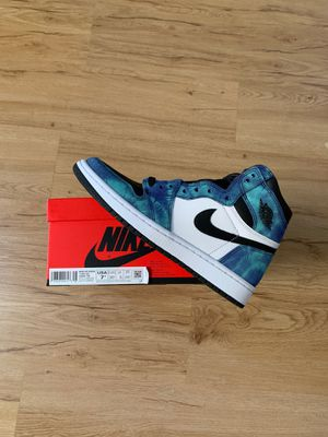 Women's Jordan 1 retro tie dye size 7.5 / 6Y brand new for Sale in San Leandro, CA