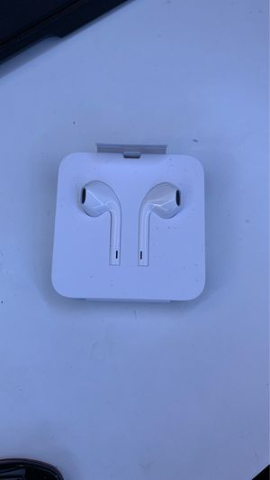 Apple wired earbud headphones for Sale in Columbus, OH
