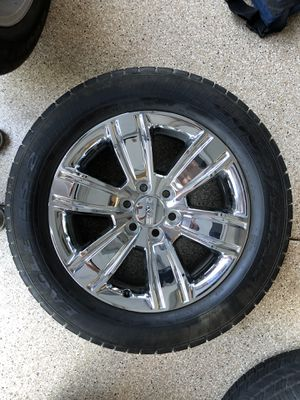 Goodyear Eagle tires and Rims off of 2018 GMC Sierra SLT 4x4 for Sale in Montclair, CA