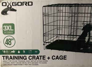 Oxgord 3XL Double Door Dog Crate for Sale in Cutler Bay, FL
