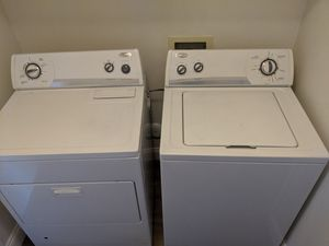 Whirlpool Washer and Gas Dryer for Sale in Laguna Beach, CA
