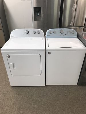 Brand new whirlpool Toploader washer and dryer for Sale in Bellaire, TX