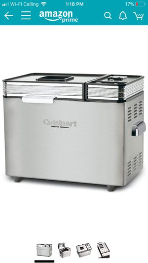 Cuisinart CBK-200 2-Lb Convection Bread Maker for Sale in Hollywood, FL