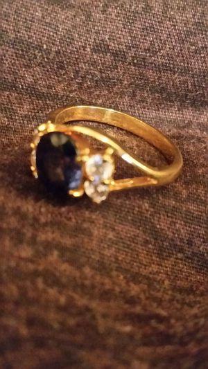 Ring Blue stone for Sale in Harper Woods, MI