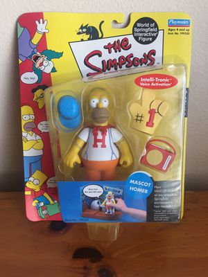 THE SIMPSONS Mascot Homer Series 6 for Sale in Laguna Hills, CA