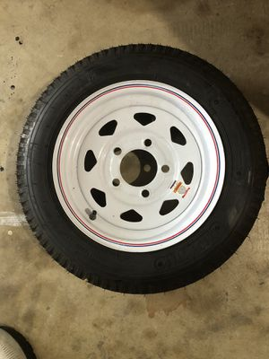 Brand new trailer tire - size 12 - never been used for Sale in Richardson, TX