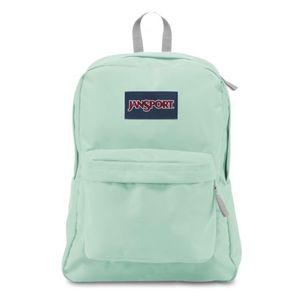 Jansport mint superbreak backpack for Sale in Queens, NY