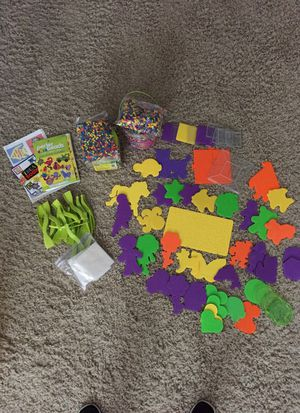 Perler beads + peg boards for Sale in Los Angeles, CA