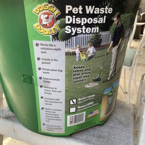 Pet waste disposal system for Sale in Tampa, FL