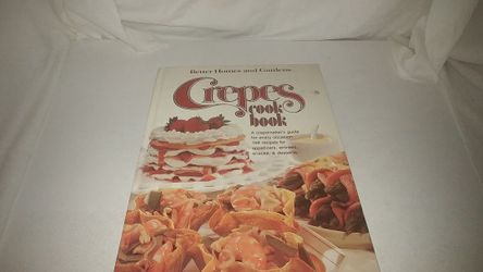 Better Homes and Gardens Crepes Cook Book 1980 Used for Sale in La Habra,  CA