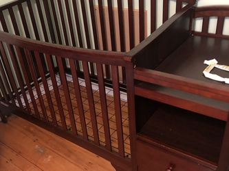 Crib With Changing Table for Sale in Boston,  MA