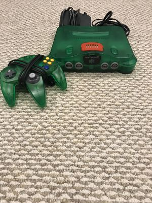 Jungle green N64 for Sale in Franklin Square, NY