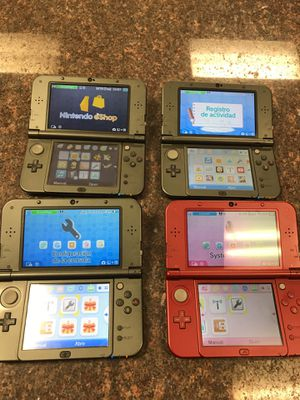 New Nintendo 3DS XL plus a charger pick your color 139.99 each new @ 199.99 for Sale in Austin, TX