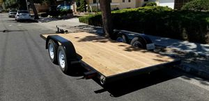 7'x16' flat bed trailer for Sale in Fresno, CA