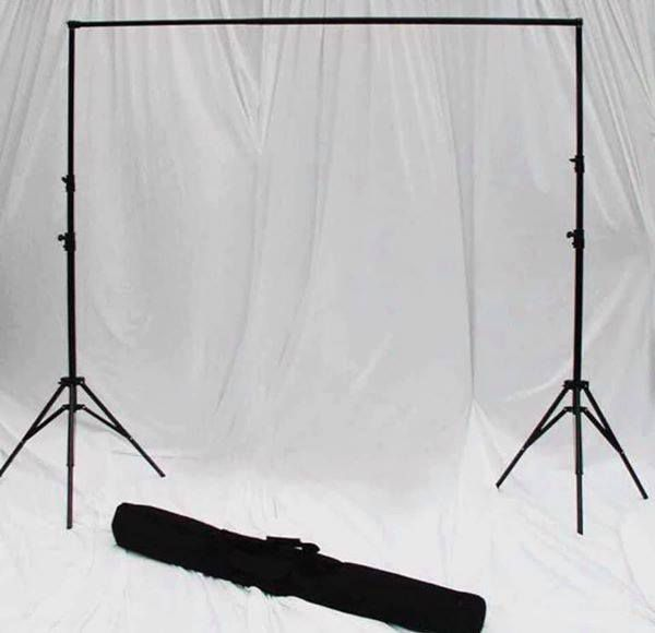 Brand New Adjustable Backdrop Stand Available in 2 sizes 10x6ft and 10x8ft