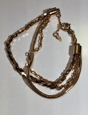 Gold fossil bracelet for Sale in Weldon Spring, MO