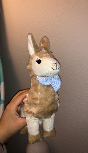 Llama plush toy for Sale in Pasadena, CA