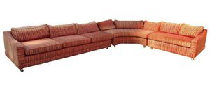 vintage 3 piece sectional couch from the 1950s for Sale in Beverly Hills, CA