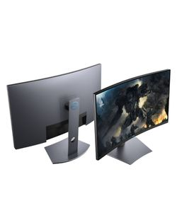 """Dell - 32"""" LED Curved QHD FreeSync Monitor with HDR for Sale in Wyandotte,  MI"""