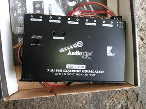 Audiopipe equalizer for Sale in Lancaster, PA