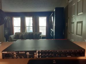 Focusrite clarrett 8 pre usb for Sale in Marietta, GA