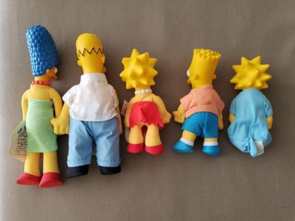 THE SIMPSONS FAMILY STUFF TOYS