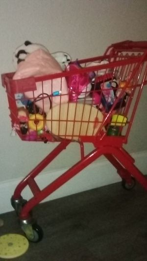 Kids metal shopping cart for Sale in Whittier, CA