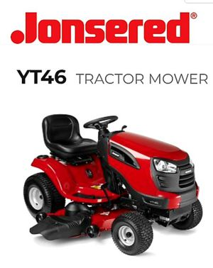 Jonsered Lawn Tractor YT46 for Sale in Woodbridge Township, NJ