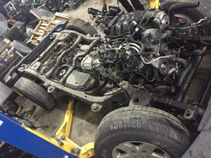 Engine transmission frame for 2013 Jeep Wrangler many parts in stock for Sale in Miami, FL