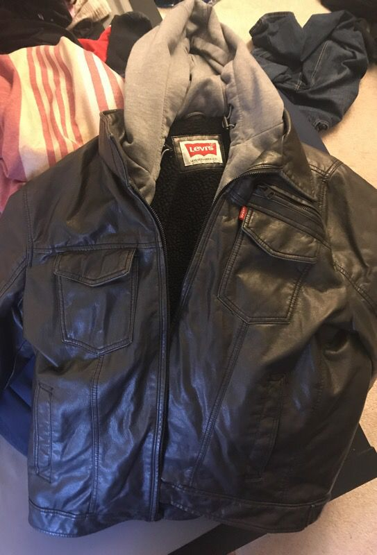 Leather two part Levi's jacket