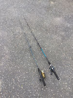 Pair of fishing rod and reel for Sale in Concord, MA