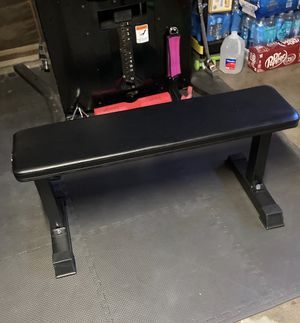Flat exercise bench for Sale in Modesto, CA