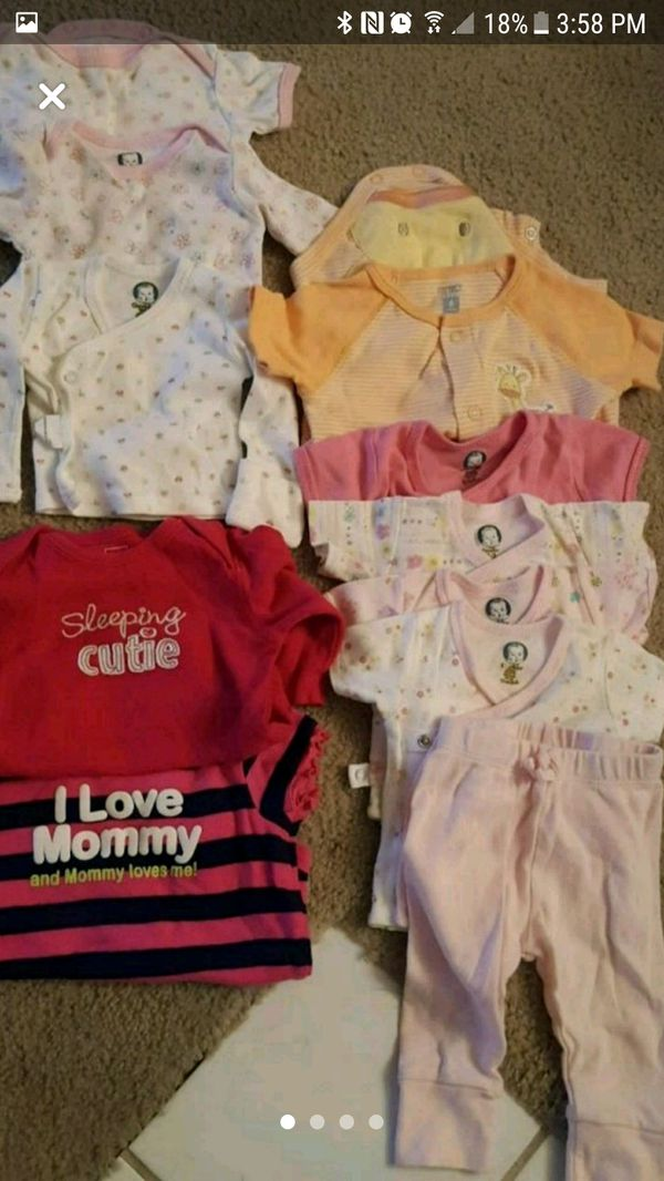 Baby Girl new born to 8 months clothes