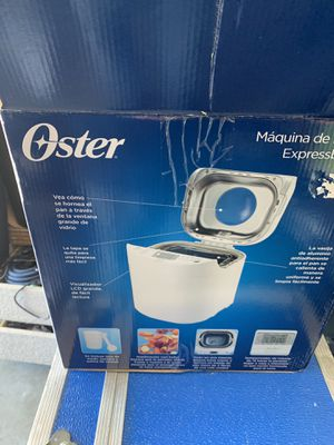 Bread machine oster new for Sale in Naples, FL