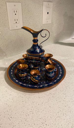 Copper tea pot set for Sale in Miami, FL