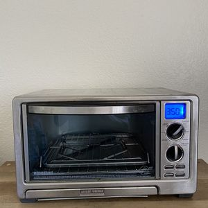 Goerge Foreman TO2021B 6-Slice Countertop Oven and Rotisserie w/Infrared Broil Technology for Sale in Fresno, CA