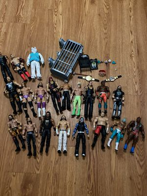 WWE action figures with accessory for sale {contact info removed} for Sale in Tampa, FL