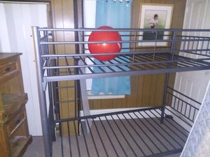 Metal Frame Twin Bunk Bed for Sale in Reading, PA