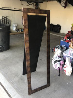 Standing Mirror (missing mirror) for Sale in Chandler, AZ